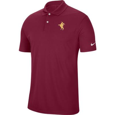 Florida State Nike Golf Unconquered Dry Victory Solid Polo MAROON