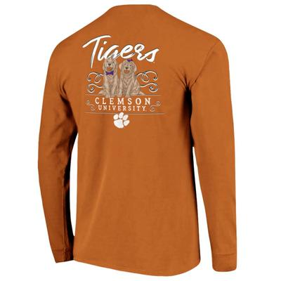 Clemson Women's Double Trouble Long Sleeve Tee