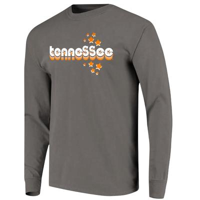 Tennessee Women's Retro Cutout Stars Long Sleeve Tee