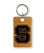 Nc State Timeless Etchings Key Chain