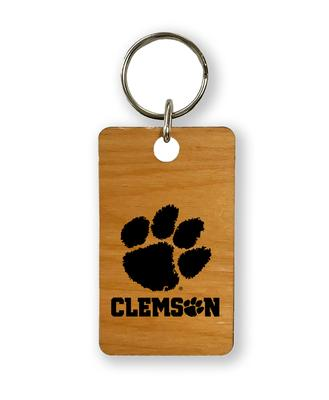Clemson Timeless Etchings Key Chain