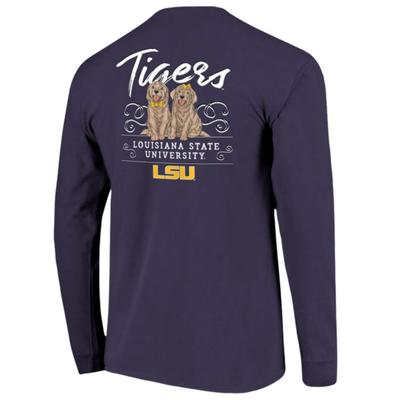 LSU Women's Double Trouble Long Sleeve Tee