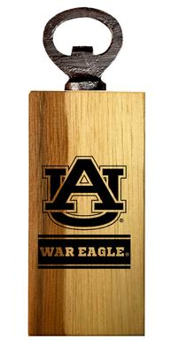 Auburn Timeless Etchings War Eagle Mini Bottle Opener