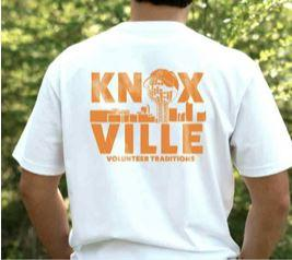 Tennessee Volunteer Traditions Knoxville Sunsphere Pocket Tee