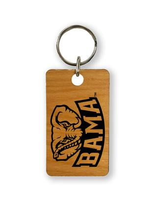 Alabama Timeless Etchings Elephant Key Chain
