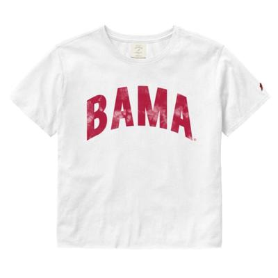 Alabama League Clothesline Crop Top