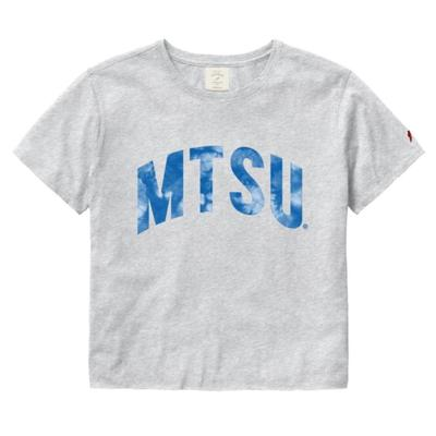 MTSU League Clothesline Crop Top