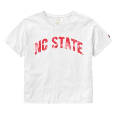 NC State League Clothesline Crop Top