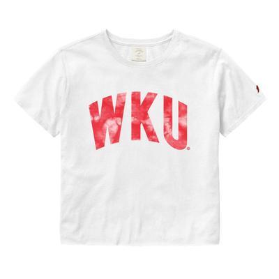 Western Kentucky League Clothesline Crop Top