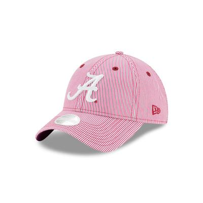 Alabama Women's Preppy Stripe Adjustable Cap