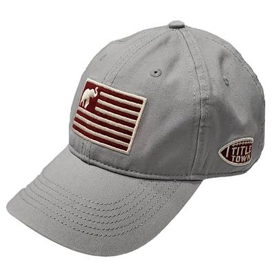 Elephant Flag Adjustable Twill Crew Cap