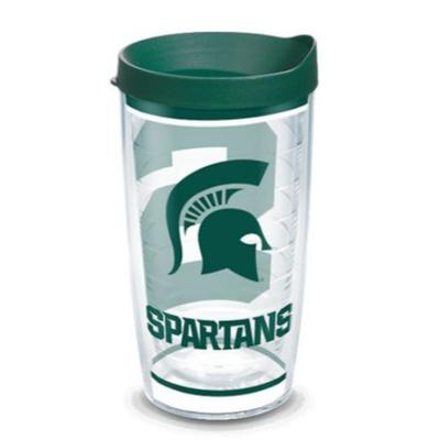Michigan State Tervis 16oz Traditions Wrap Tumbler