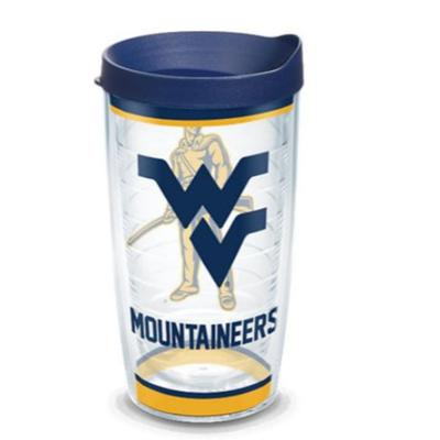 West Virginia Tervis 16oz Traditions Wrap Tumbler
