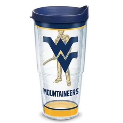 West Virginia Tervis 24oz Traditions Wrap Tumbler