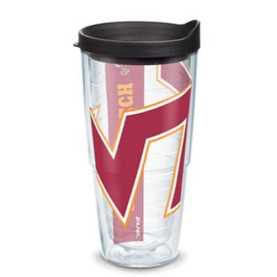 Virginia Tech Tervis 24oz Colossal Wrap Tumbler