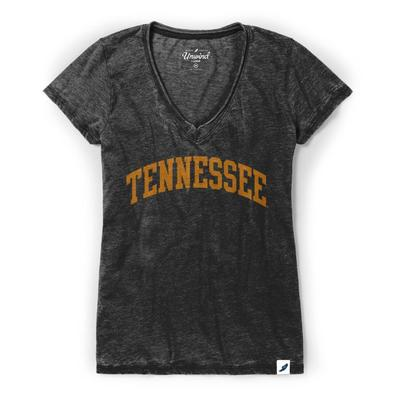 Tennessee League Distressed Burnout V-Neck