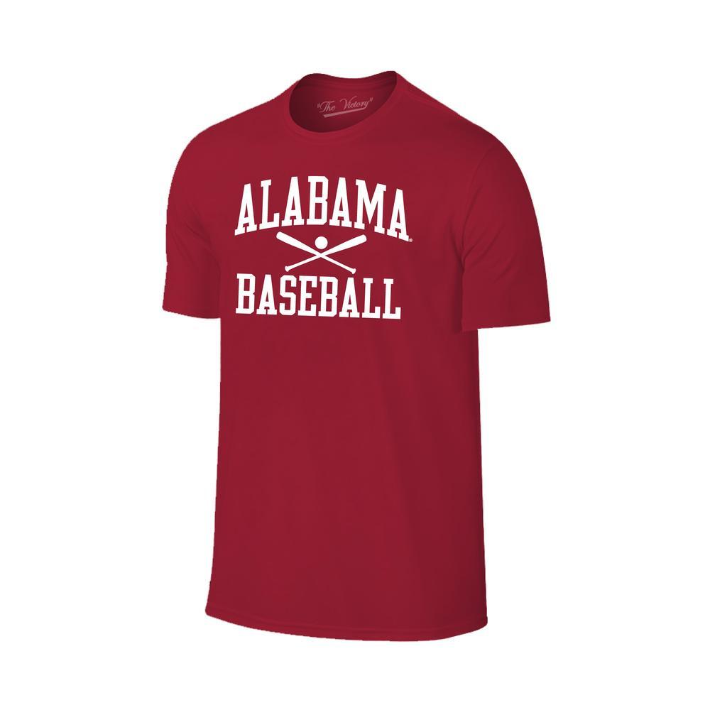 Alabama Basic Baseball Tee Shirt