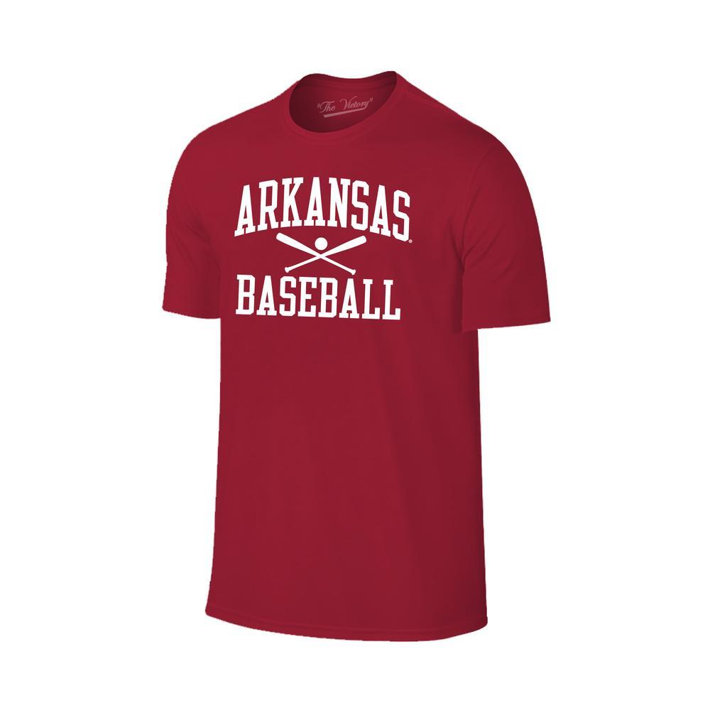 Arkansas Basic Baseball Tee Shirt
