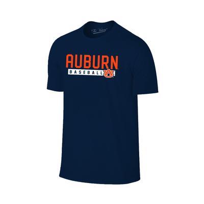 Auburn Bold Baseball Tee Shirt