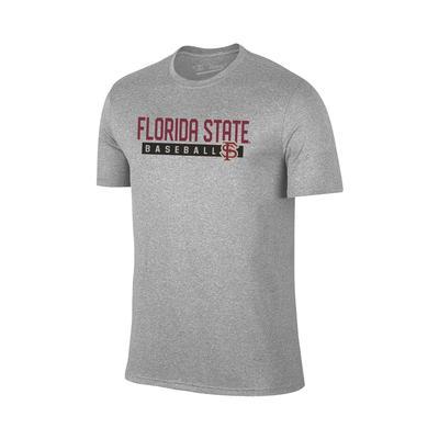 Florida State Bold Baseball Tee Shirt