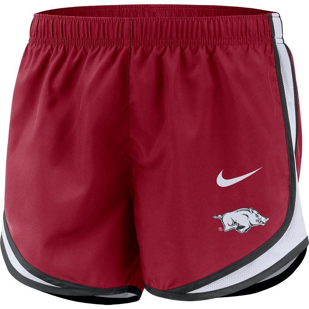 Arkansas Nike Women's Tempo Shorts