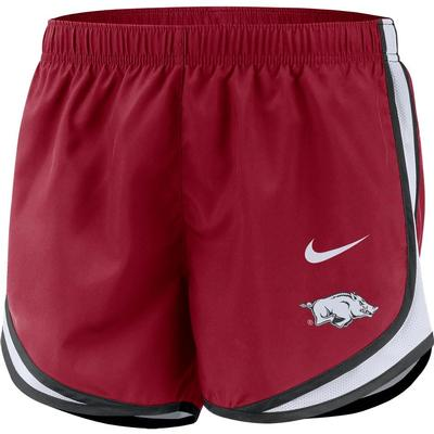 Arkansas Nike Women's Tempo Shorts