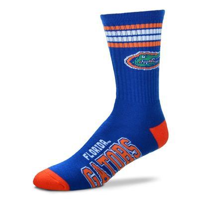 Florida Barefeet 4 Stripe Deuce Socks