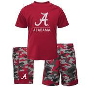 Alabama Gen2 Toddler Tee And Camo Short Set
