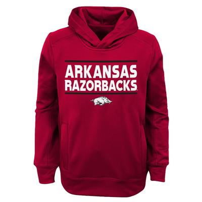 Arkansas Gen2 YOUTH Wordmark  Hoodie