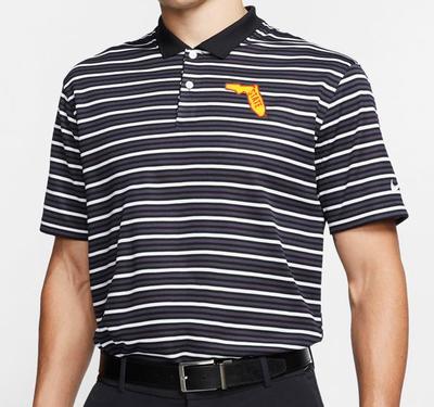 Florida State Nike Golf Alt Logo Dry Victory Stripe Polo