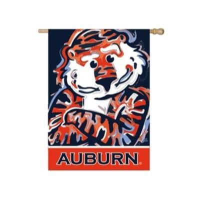 Auburn Suede House Flag