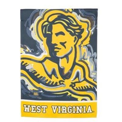 West Virginia Suede House Flag