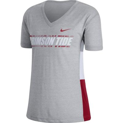 Alabama Nike Women's Breathe Top