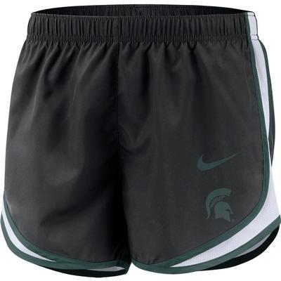 Michigan State Nike Women's Tempo Shorts BLACK