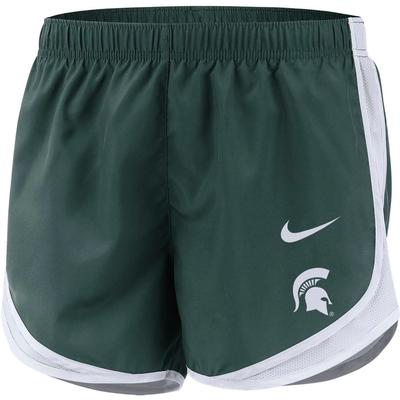 Michigan State Nike Women's Tempo Shorts