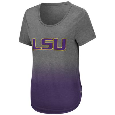 LSU Colosseum Women's Know Ya Boo Dip Dye Tee