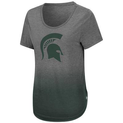 Michigan State Colosseum Women's Know Ya Boo Dip Dye Tee