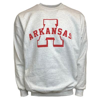 Arkansas Natural Threads Arch Sweatshirt