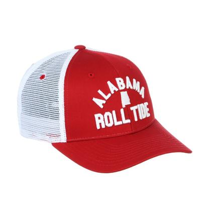 Alabama Zephyr Juncture Arch State Trucker Hat
