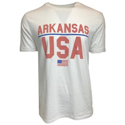 Natural Threads Arkansas USA Short Sleeve Tee