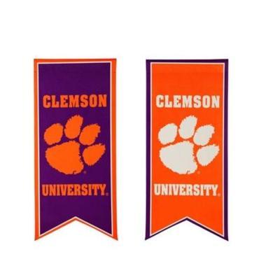 Clemson Garden Flag Banner