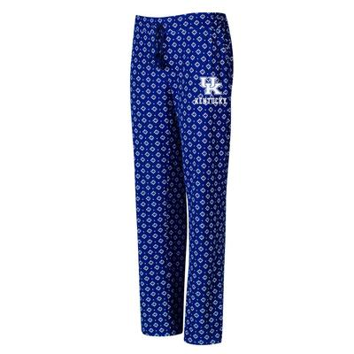 Kentucky College Concepts Cloud 7 Knit Pants
