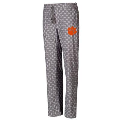 Clemson College Concepts Cloud 7 Knit Pants