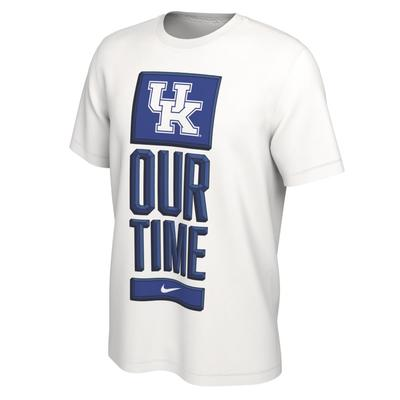 Kentucky Nike Our Time Bench Short Sleeve Tee