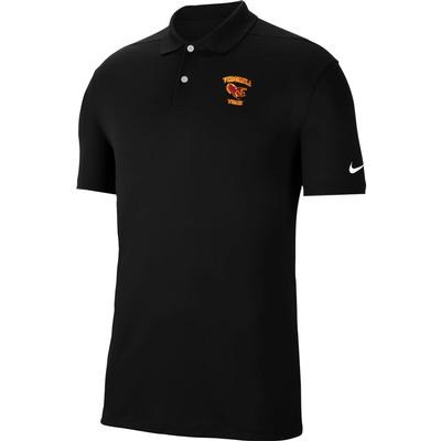 Virginia Tech Nike Golf Gobbler Logo Dry Victory Solid Polo
