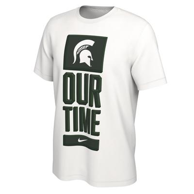Michigan State Nike Our Time Bench Short Sleeve Tee