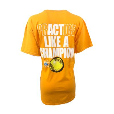 Tennessee Women's Lady Vols Practice Like A Champ Tee