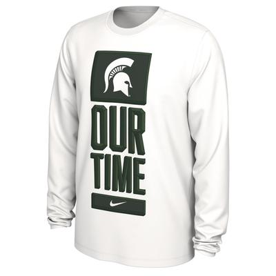 Michigan State Nike Our Time Bench Long Sleeve Tee