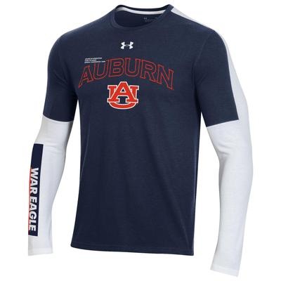 Auburn Under Armour Bench Long Sleeve Tee