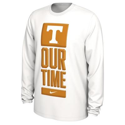 Tennessee Nike Our Time Bench YOUTH Long Sleeve Tee